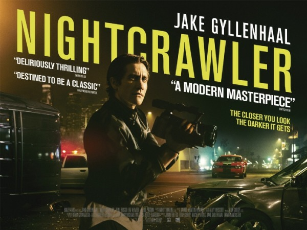 Jake Gyllenhaal is creepy, psychotic, disturbing, and perfect in the Nightcrawler. The Oscar- bait performance will stick in your mind for weeks after viewing.