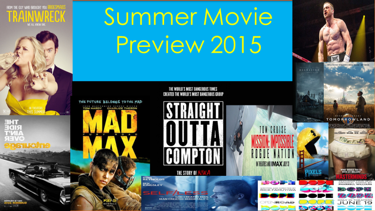 Summer Move Preview 2015